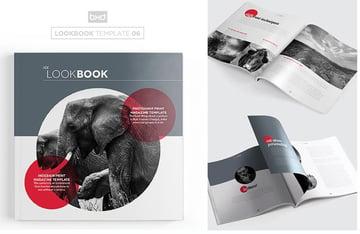 MagazineLookbook Template