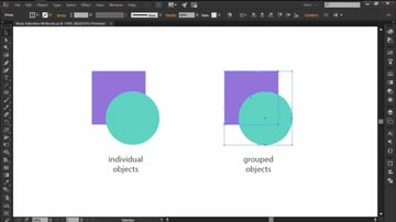 Using the Selection Tool in Adobe Illustrator