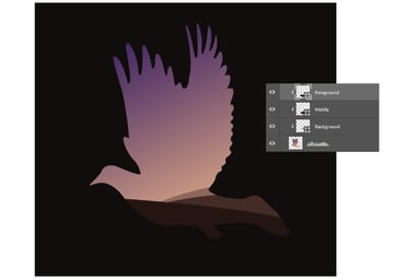 Create A Landscape with the Pen Tool