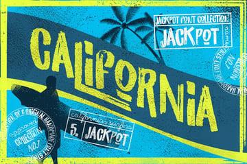 California Jackpot Modern Sans Serif Fonts