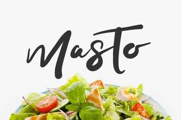 Masto Decorative Script Font