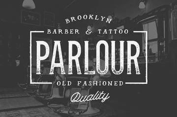 Parlour Bold Serif Fonts