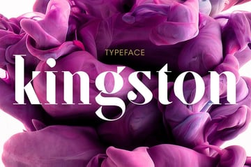 SF Kingston Bold Serif Fonts