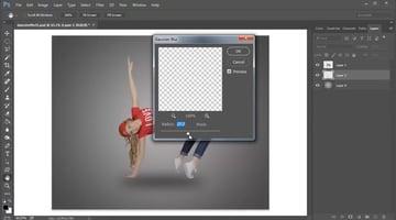 Create a Subtle Blurred Shadow with Gaussian Blur