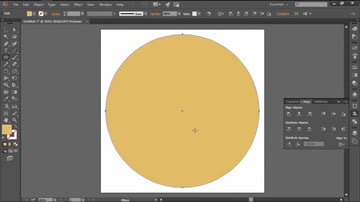 Create a Center Yellow Circle