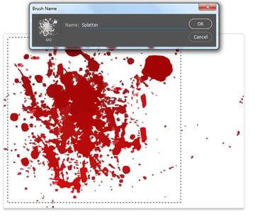 Create a Custom Splatter Brush in Photoshop