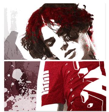 Paint Splatter for a Grunge Effect