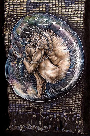 Scattered Wampum by Caleb Hamm