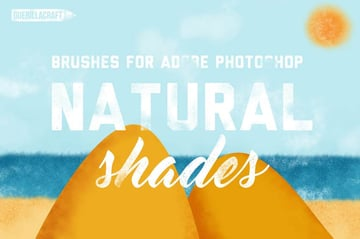 Natural Shades Brushes for Adobe Photoshop
