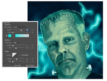 Create Lightning Bolts for the Background