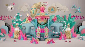 Pop Kai Art by Fu
