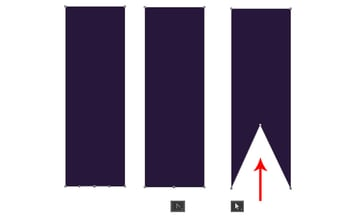 Create a Banner From a Rectangle with the Pen Tool
