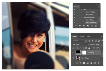 Create a Color Fill for your Photoshop Action