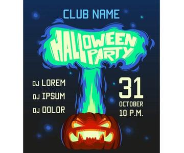 Pumpkin Brew Halloween Party Invitation