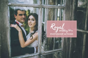 Royal Wedding Pro Photoshop Actions Download