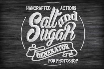 Salt and Sugar Generator - Photoshop Actions