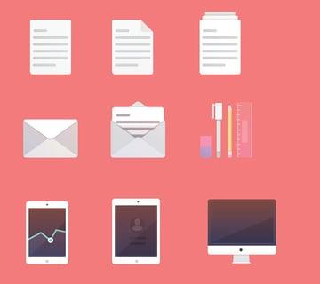 Illustrator Productivity Icons by Jane Lomas
