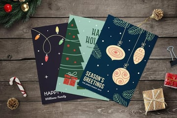 Christmas Cards and Flyers Collection