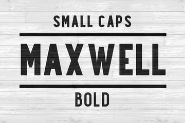 Maxwell Sans Font