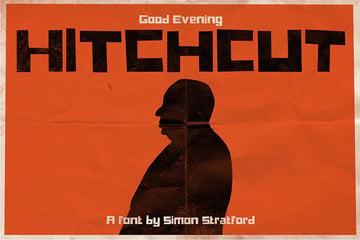 Hitchcut Font