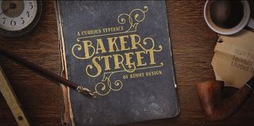 Baker Street Rough Font