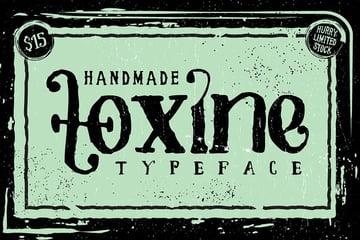 TOXINE Typeface