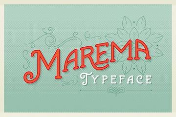 Marema Typeface