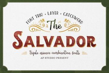The Salvador Font