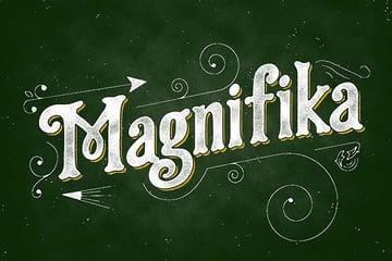Magnifika Font