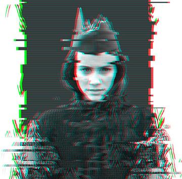 Glitch Photo Effect Alternative Version by Melody Nieves