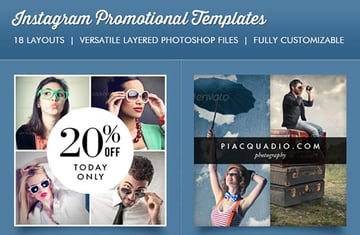 Instagram Promotional Template