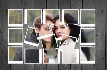 Polaroid Frames Photo Template v2