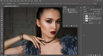 Playing a Photoshop Action