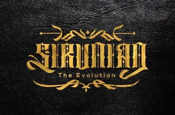 Sirunian Typeface Tattoo Script Font