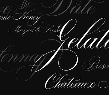 Bodega Cursive Tattoo Font