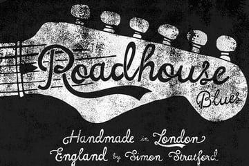 Roadhouse Blues Font