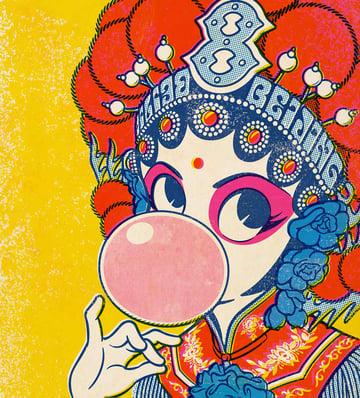 Beijing Opera Art by Akira Yonekawa