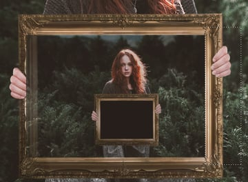 Create the Picture Within a Picture Photographic Illusion