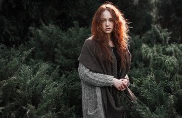 Original Redhead Stock Photo from Pixabay