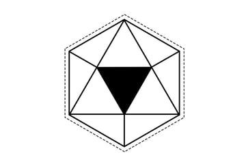 The Final Hexagon and Triangle Geometric Design