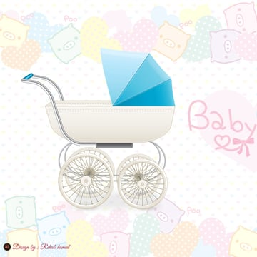 Illustrator Baby Stroller by Re Ab