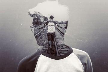 Double Exposure Effect by Suprio Dazz