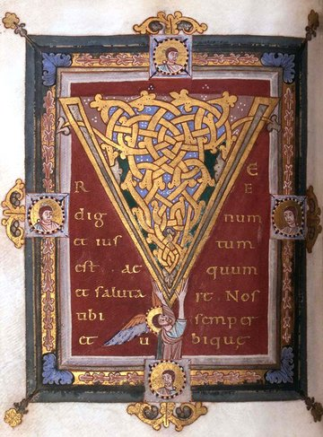 An Illuminated Manuscript from The Middle Ages