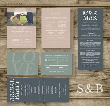 Wedding Invitation Package