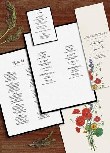 Flora - Wedding Pack