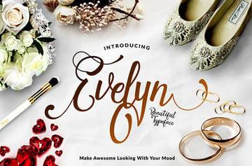 Evelyn Script Font