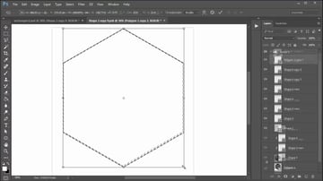 Create the First Shape for the Geometric Design