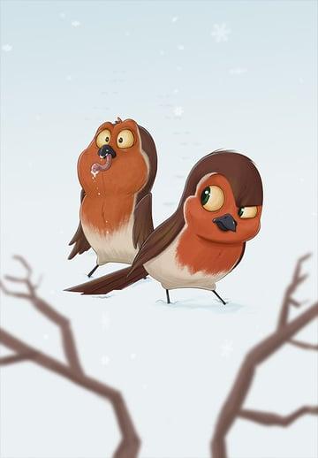 Seasons - Winter by Peter Slattery