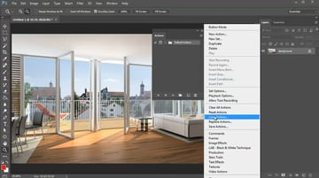 Loading Photoshop Actions