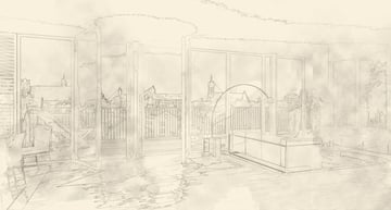 Architecture Drawing Photoshop Tutorial